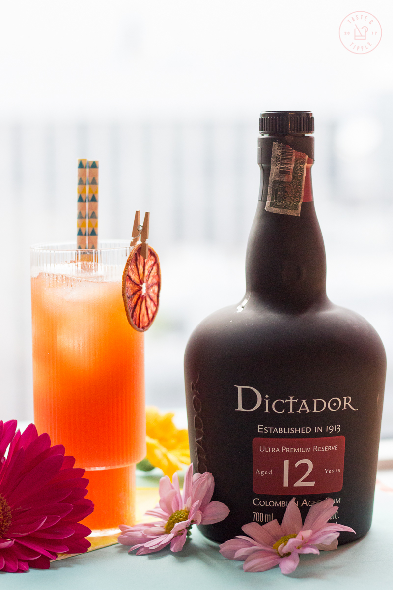 Colombian Coral Cocktail | Taste and Tipple