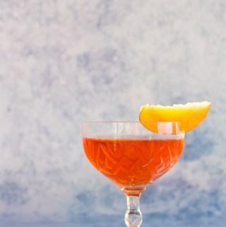 Peachy Keen Boulevardier   Taste and Tipple