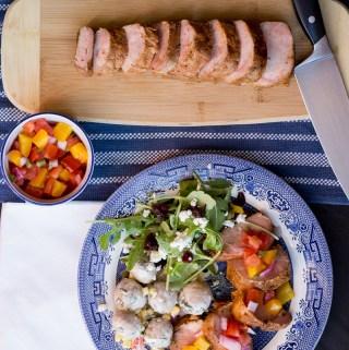 Sous Vide Chili-Rubbed Pork Tenderloin with Fresh Salsa | Taste and Tipple
