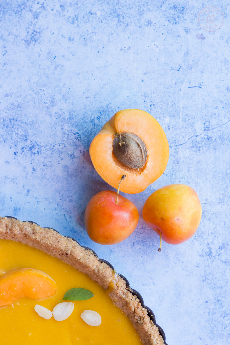 Apricot, Plum and Almond Tart | Taste and Tipple
