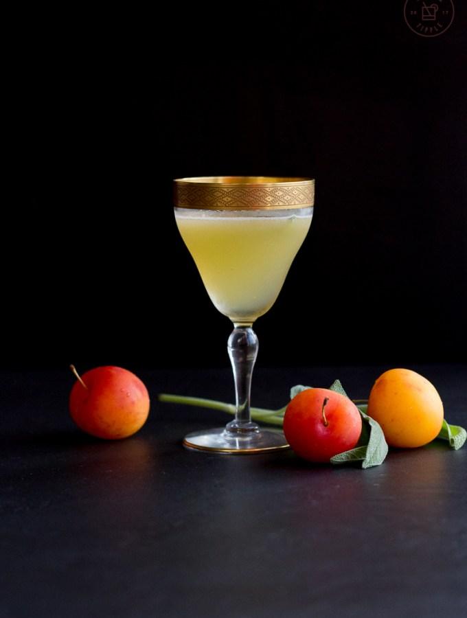 Pisco, Plum & Sage Cocktail | Taste and Tipple
