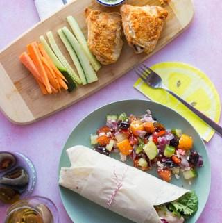 Sous Vide Tandoori Chicken Wraps | Taste and Tipple