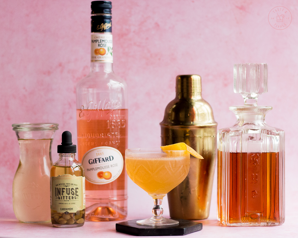 Saddle Up Cocktail | Taste and Tipple