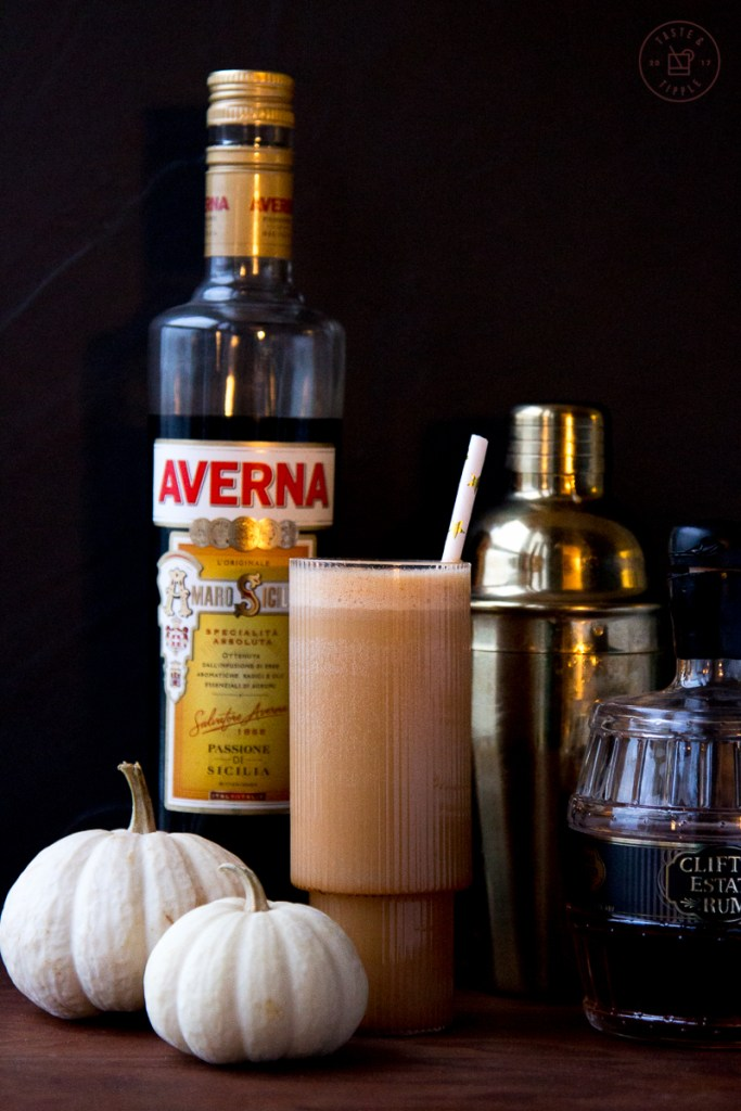 Pumpkin Pie Fizz | Taste and Tipple