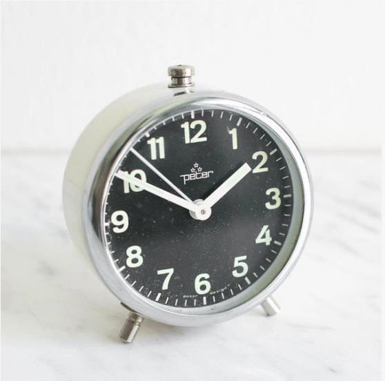 Vintage Alarm Clock | Mighty Vintage
