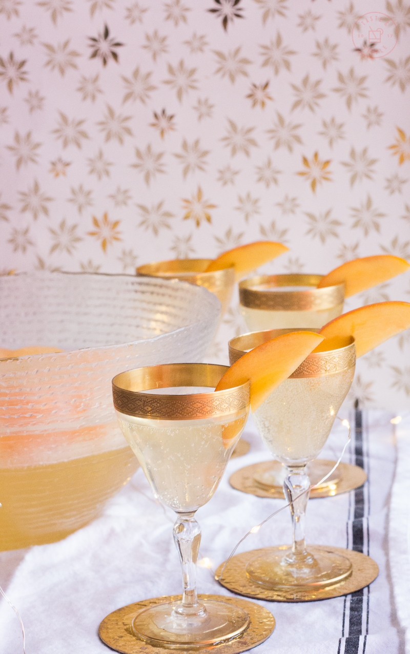 Persimmon Prosecco Punch | Taste and Tipple