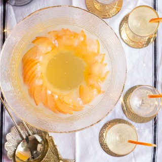 Persimmon Prosecco Punch   Taste and Tipple