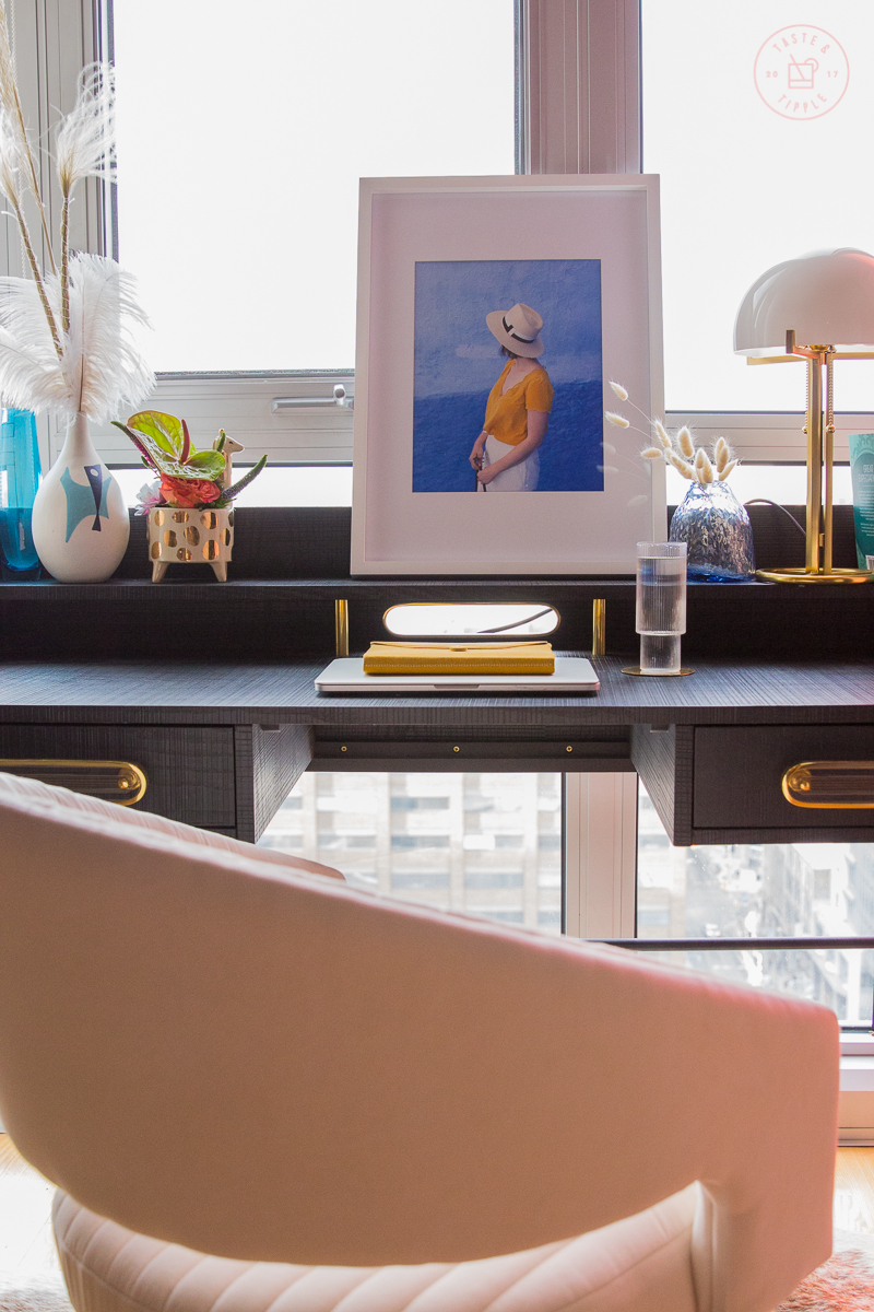 Home Office Makeover | Taste and Tipple