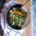 Chickpea Bowls with Fennel Slaw | Taste and Tipple