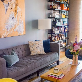 Living Room Reveal   Taste and Tipple