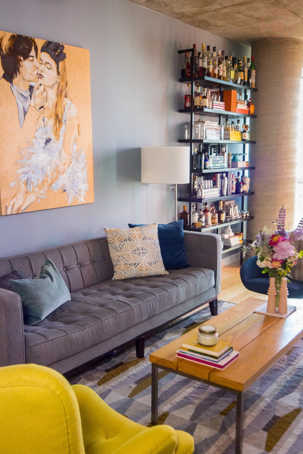 Living Room Reveal | Taste and Tipple