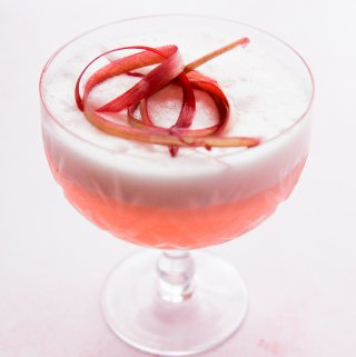 Rhubarb Sour | Taste and Tipple
