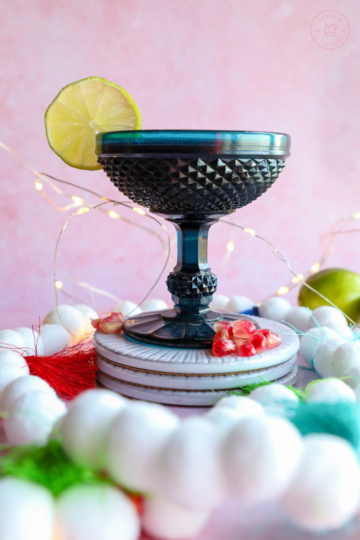 Pom Pom Garland   Taste and Tipple