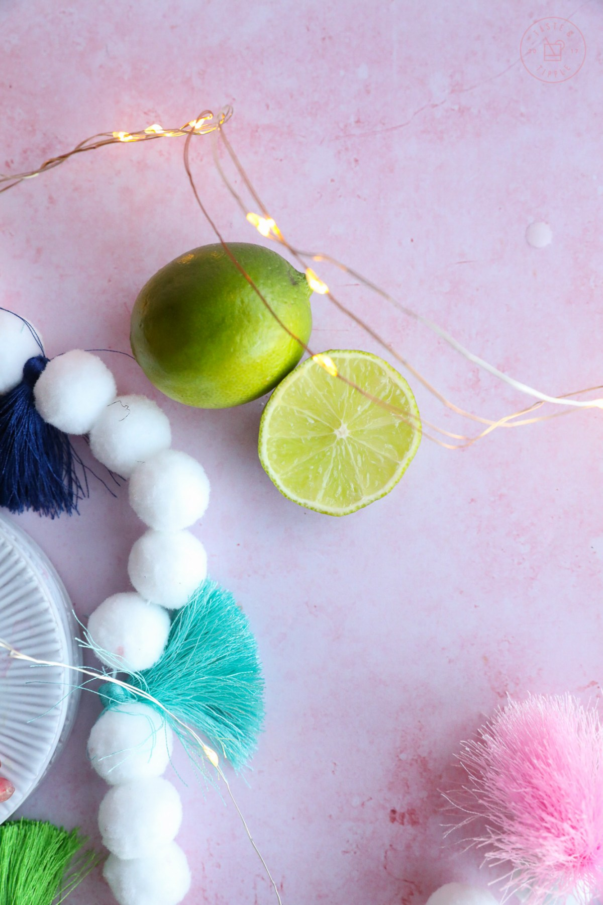 Pom Pom Garland | Taste and Tipple