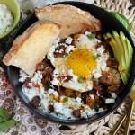 Greek Eggs with Crispy Potatoes | Taste and Tipple