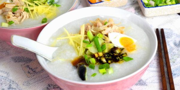 Chinese Porridge Recipe –  With Lean Pork and Century Eggs (皮蛋瘦肉粥)