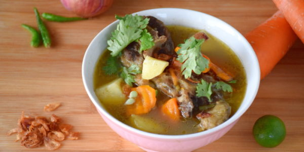 Oxtail soup that will melt your heart with an adventurous twist