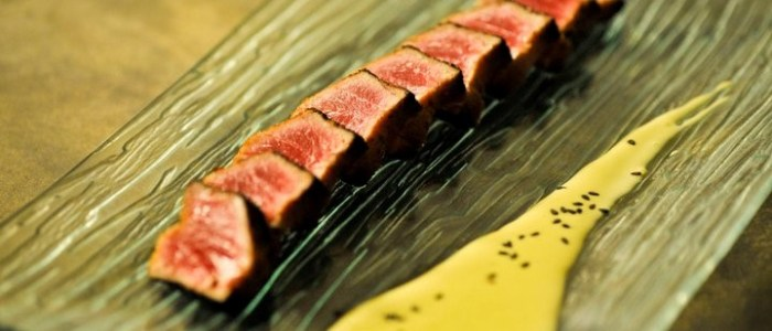 Seared tuna - Cuisine @ Taste Bar & Grill