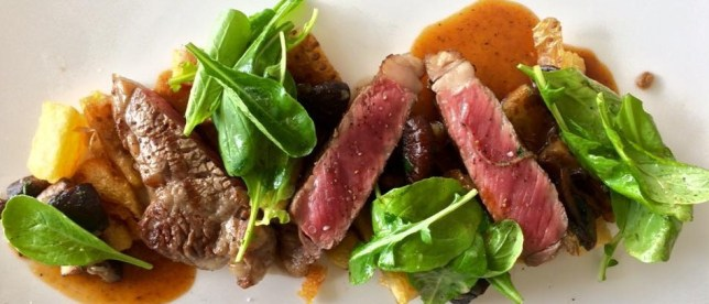 Steak Salad - Cuisine @ Taste Bar & Grill