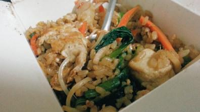 Chinese Brown Rice Stir-Fry with Tofu at Bao Stir-Fry