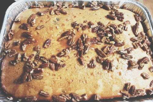 Butterscotch Rum Pound Cake Featured Image