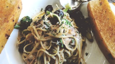 Linguini Alla Siciliana at Greenstreet