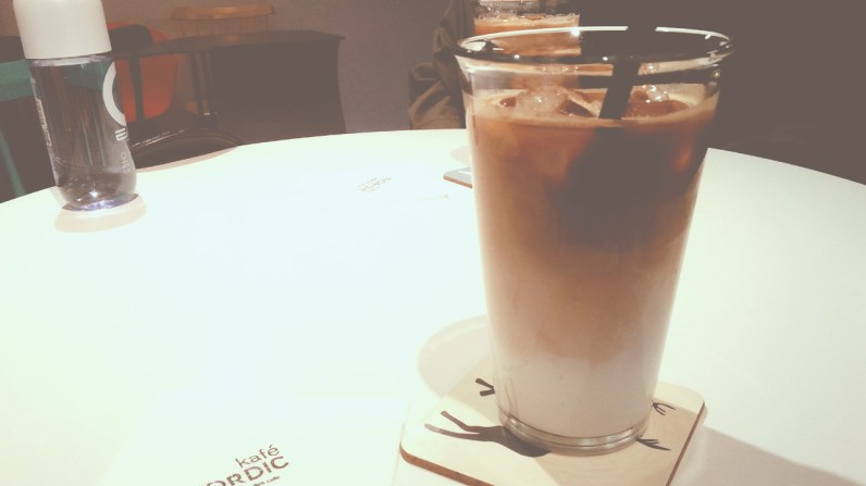 Iced Lattes at Kafe Nordic