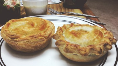 Beef and Cheese Pie and Beef Pie at The Little Pie