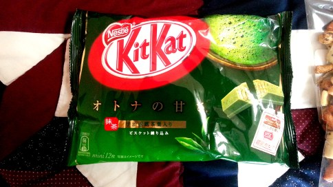 Nestle's Green Tea Kit Kat