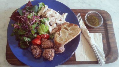 Epic Chicken and Multigrain Ball Salad at Fat Cat