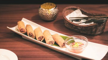 Home-made Fried Spring Rolls at Noxa Oriental (Image Credit: Noxa Oriental & SmileMan:D Snap Photographer)