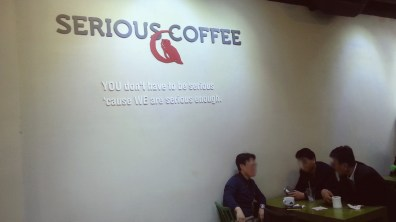 Serious Coffee's Interior