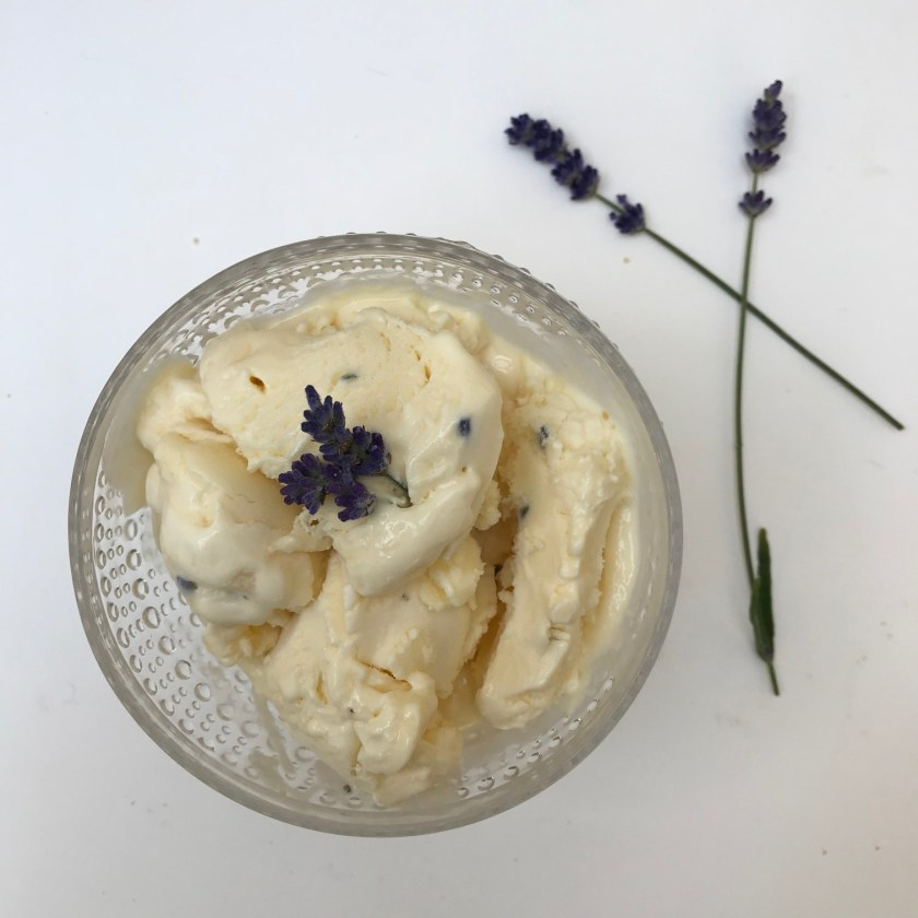 Lavender Ice-cream, lavender ice cream recipe