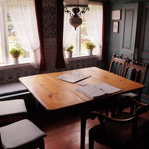 Öömrang Hüs Amrum friesische Stube Esszimmer Interior Design Wohninspiration Tasteboykott