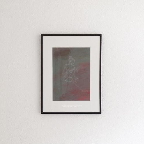 Zeichnung Akt als moderne Wanddeko. Kunst-Update Juli 2018 Tasteboykott.