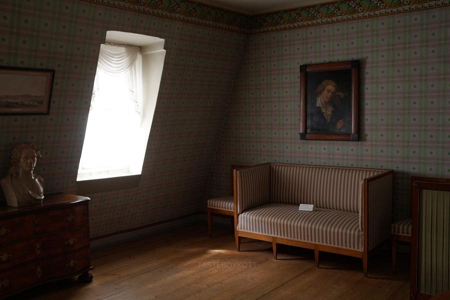 Schiller-Museum/ Schillers Wohnhaus in Weimar Interieur.