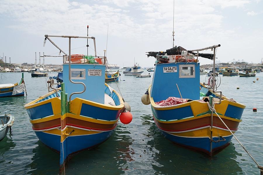 Sommerabschied auf Malta - Farbenfrohe Boote