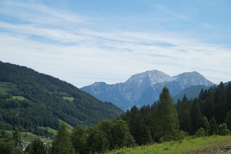 Wandern in den Berchtesgadener Alpen: Hochkalter in Ramsau.