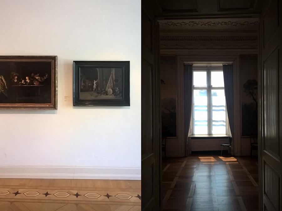 Schloss in Oldenburg - Landesmuseum für Kunst und Kulturgeschichte - Interieur