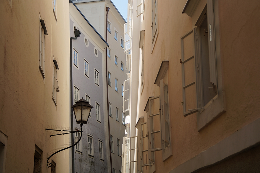 Städtetrip nach Salzburg