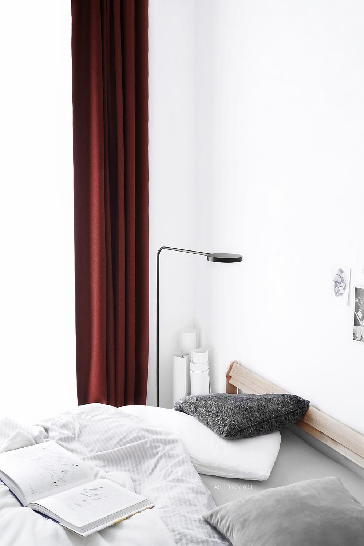Schlafzimmer im Winter modern minimalistisch einrichten | Wohnideen | Tasteboykott Wohnblog
