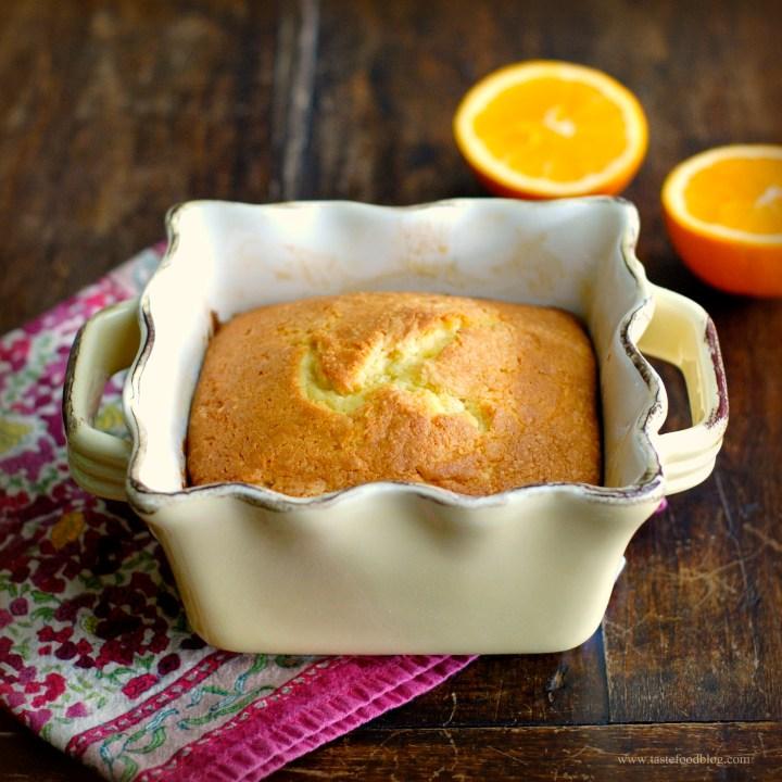 Orange Spiced Pound Cake