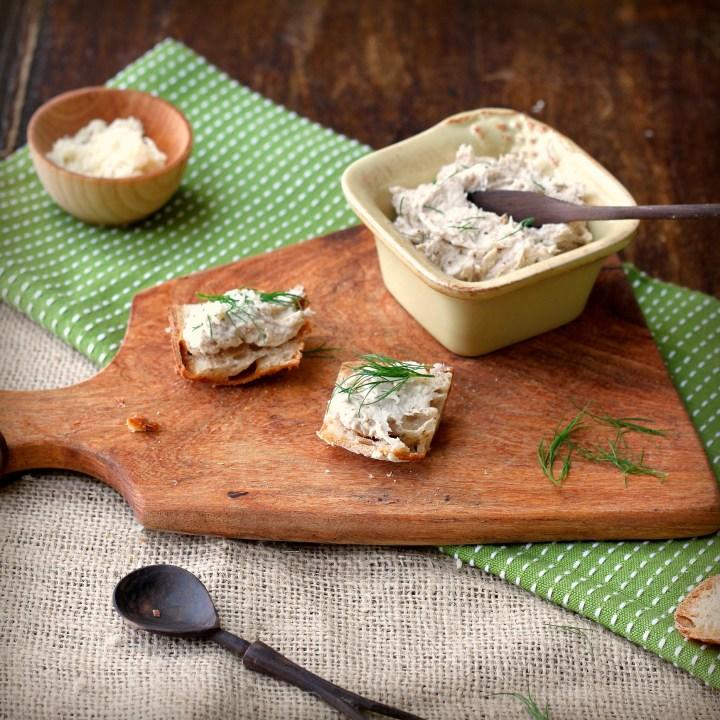 Smoked Mackerel Paté with Horseradish and Dill