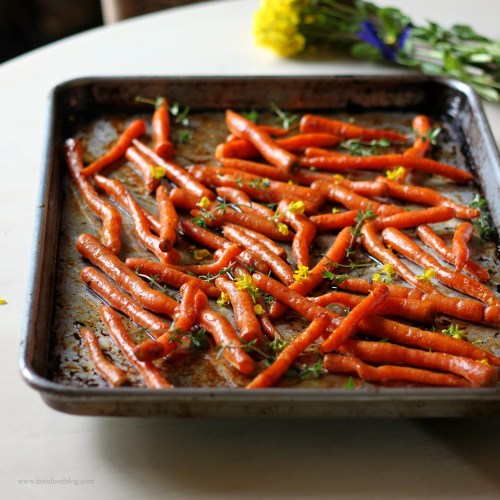 carrots roasted tastefood