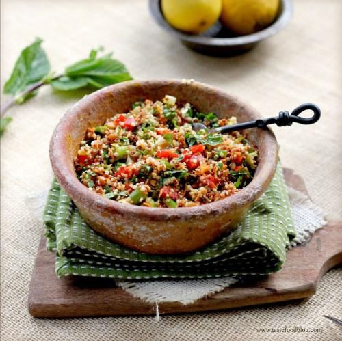 quinoa carrot bowl tastefood