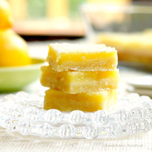 lemon sea salt bars tastefood
