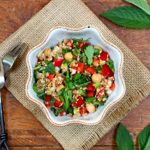 Greek Tabbouleh Salad TasteFood