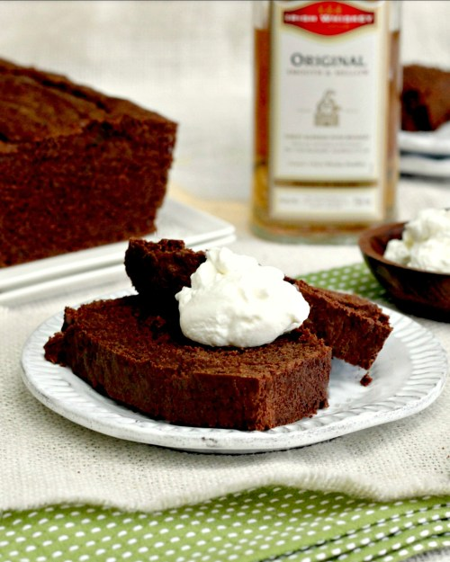 Luscious and rich chocolate stout cake