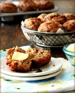 Healthy Apple Oat Muffines
