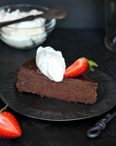 Gluten-free Double Chocolate Cake